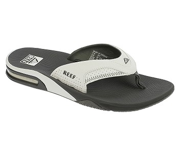 žabky Reef Fanning - Gray/White