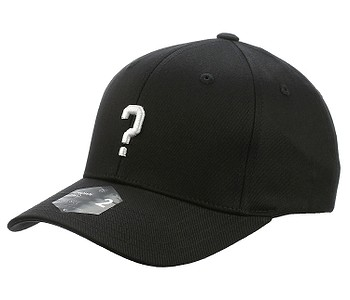 kšiltovka State of WOW Question Mark Baseball Crown 2 - Black/White