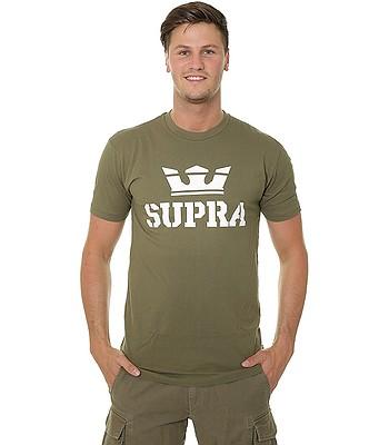 c2baca5a2da9c tričko Supra Above - Olive/White   Blackcomb.cz