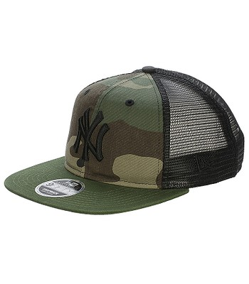 cap New Era 9FI Washed Camo Trucker MLB New York Yankees - Woodland Camo -  blackcomb-shop.eu 918013ba611