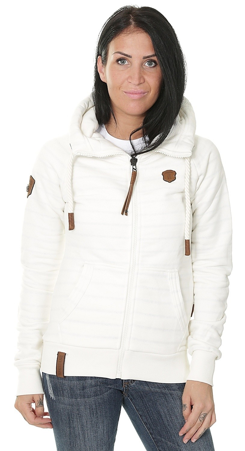 NAKETANO Brazzo Hooded Jacket for Women Beige