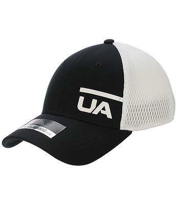 587d8897c80 cap Under Armour Train Spacer Mesh - 001 Black White - blackcomb-shop.eu