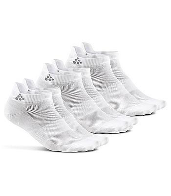 ponožky Craft 1906059 Shaftless 3 Pack - 900000 White - snowboard ... 982a0463af