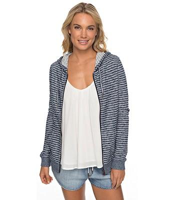 mikina Roxy Trippin Stripe Zip - WBT5 Marshmallow Just Simple Stripe 6767aa63ceb
