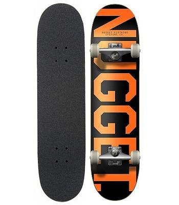 27e15fc56e skateboard Nugget Trademark 2 Complete - A Black Orange