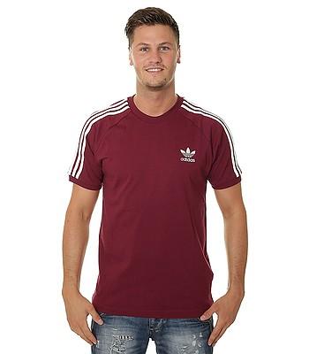 64d0d72c10 T-Shirt adidas Originals 3 Stripes - Collegiate Burgundy - men´s -  blackcomb-shop.eu