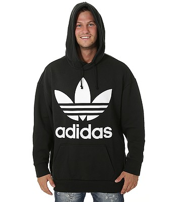mikina adidas Originals Trefoil Oversize - Black - snowboard-online.sk cd52aa3497e