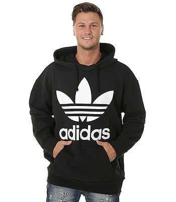 a8794f02667d0 sweatshirt adidas Originals Trefoil Oversize - Black - men´s -  blackcomb-shop.eu