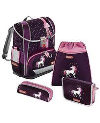 bf15eb2419c aktovka Hama - Step By Step 138503 Light 2 Jednorožec - Purple Pink