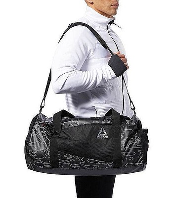 5c8cc12bb59fc3 bag Reebok Performance Active Enhanced Graphic Grip - Black ...
