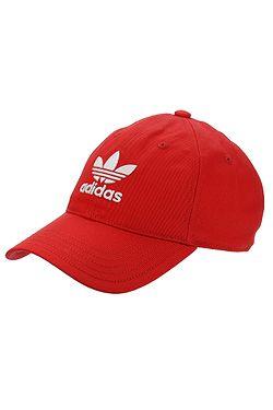 fb688143b šiltovka adidas Originals Trefoil Snapback - Collegiate Red/White ...