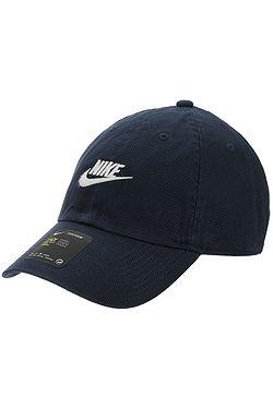kšiltovka Nike Sportswear Heritage86 Futura Washed - 451 Obsidian Obsidian White  ... 3a0494dbc7