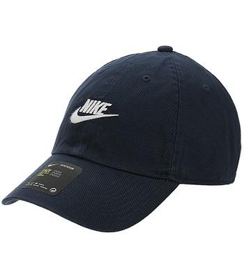 d2b1960c2dd cap Nike Sportswear Heritage86 Futura Washed - 451 Obsidian Obsidian White  - snowboard-online.eu