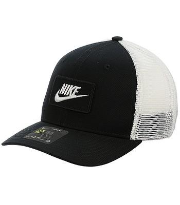 54b9b1977a6 kšiltovka Nike Sportswear Classic 99 Trucker - 010 Black White ...