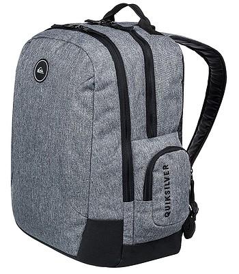 4188aa5b8c9f7 plecak Quiksilver Schoolie II - SGRH Light Gray Heather - blackcomb ...