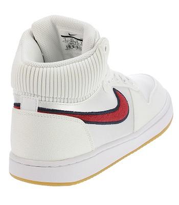 new styles f1c63 74527 shoes Nike Ebernon Mid Premium - White Red Crush Blackened Blue - women´.  IN STOCK -20%