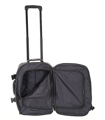 9e0c058de4841 walizka Roxy Wheelie 2 - KPG6/Charcoal Heather Flower Field. Dostępne ‐ do  17. 5. u Ciebie w domu -20%Wysyłka gratis