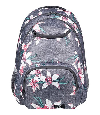 29116ae16b backpack Roxy Shadow Swell - KPG6 Charcoal Heather Flower Field - women´s.  IN STOCK ‐ by 18. 6. at your home -20%