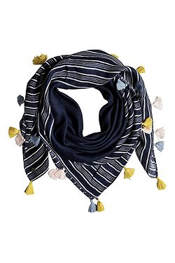 šátek Roxy Take A Ride - BTK3 Dress Blues Vertical Stripes e3131d1721