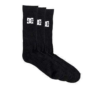ponožky DC SPP Crew 3 Pack - KVJ0/Black