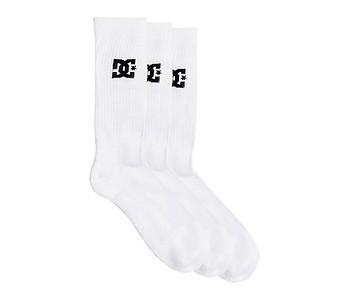 ponožky DC SPP Crew 3 Pack - WBB0/Snow White