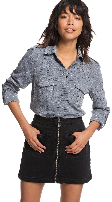Roxy Womens Military Influence Shirt