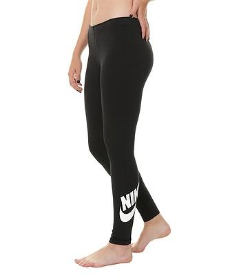 legíny Nike Sportswear Legging Leg A See Logo - 010 Black White ... 8e595d68fd