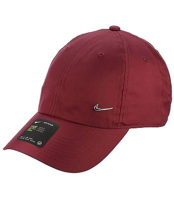 c099da8267b cap Nike Sportswear Heritage86 Metal Swoosh - 618 Red Crush Metallic Silver  - blackcomb-shop.eu