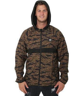 a230faf2dcc35 jacket adidas Originals Camouflage BB Wind Packable - Camo  Print Black Collegiate Orange -. In stock -30%