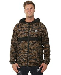 bunda adidas Originals Camouflage BB Wind Packable - Camo Print Black Collegiate  Orange 35cd576e474