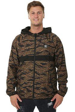 18fd1d22b bunda adidas Originals Camouflage BB Wind Packable - Camo  Print/Black/Collegiate Orange