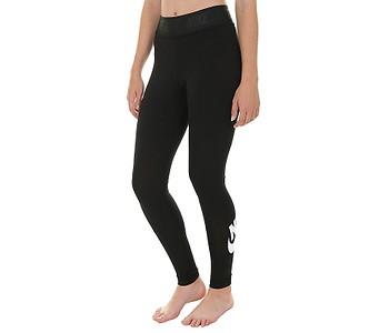 LEGÍNY NIKE SPORTSWEAR LEGGING LEG A SEE HW - 010 BLACK WHITE ... 3e01846fe4