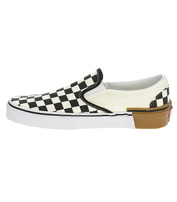 47ce5d70480 shoes Vans Classic Slip-On - Gum Block Checkerboard - blackcomb-shop.eu