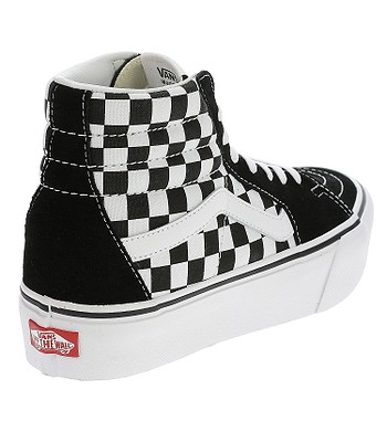 45700c35b5 shoes Vans Sk8-Hi Platform 2 - Checkerboard True White. No longer available.