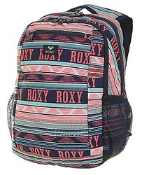 fda8f15875 batoh Roxy Here You Are - XWBG Bright White Ax Boheme Border