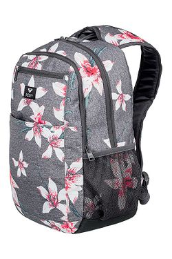 batoh Roxy Here You Are - KPG6 Charcoal Heather Flower Field ... d9008783d7
