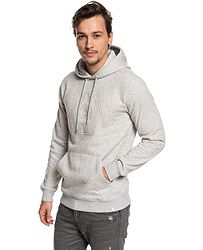 mikina Quiksilver Swell Emboss Hood - SJSH Light Gray Heather 0d0e8a1822f