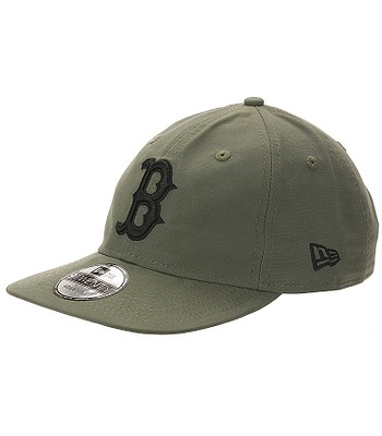 šiltovka New Era 9T Lightweight Nylon Packable MLB Boston Red Sox - New  Olive Black 57a0f5a0aba4
