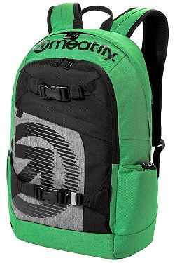 ad28f697f batoh Meatfly Basejumper 4 - J/Heather Green/Black ...