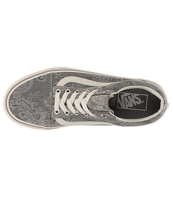 topánky Vans Old Skool Platform - Satin Paisley Gray Snow White - snowboard -online.sk e85069a1f