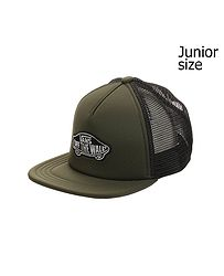 detská šiltovka Vans Classic Patch Trucker Youth - Grape Leaf a4fde88a457