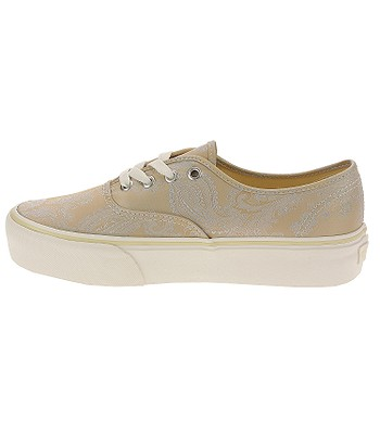 ca3bf6f6428 topánky Vans Authentic Platform - Satin Paisley Nude Snow White -  snowboard-online.sk