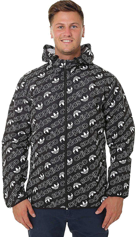 adidas Originals Men's Monogram Windbreaker Jacket