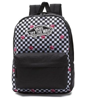 a428dc5aa batoh Vans Realm - Rose Checkerboard | Blackcomb.cz