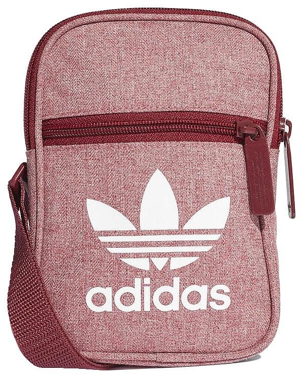 Handbag adidas Fest Bag Casual Maroon Unisex