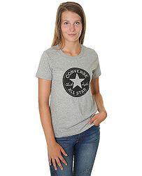 tričko Converse Chuck Patch Crew 10007043 - A03 Vintage Gray Heather 7871062294