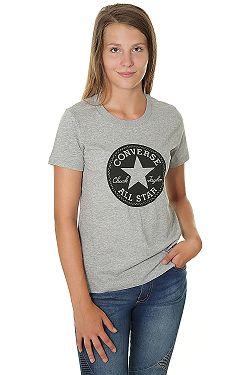 tričko Converse Chuck Patch Crew 10007043 - A03 Vintage Gray Heather ... 3488cda7b0