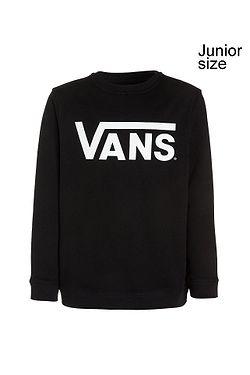 sweatshirt Vans Classic Crew - Black/White - boy´s