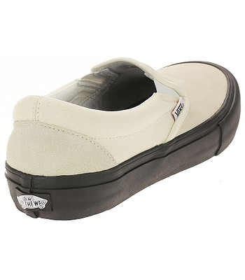 Transformador Civilizar entre  shoes Vans Slip-On Pro - Classic White/Black - men´s - blackcomb-shop.eu
