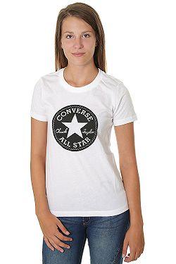 tričko Converse Chuck Patch Crew 10007043 - A01 White ... 3604a02571